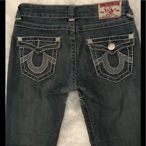 True Religion Joey Super T size 26 washed jeans